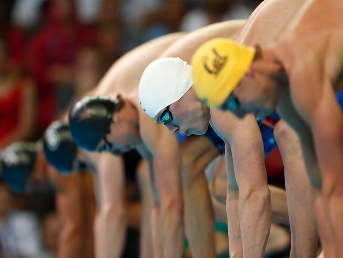 U s olympic swimming trials - Olympic swimming starting blocks ...
