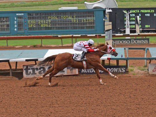 Bigg Daddy will compete at the All American Monday at the Ruidoso Downs Race Track.