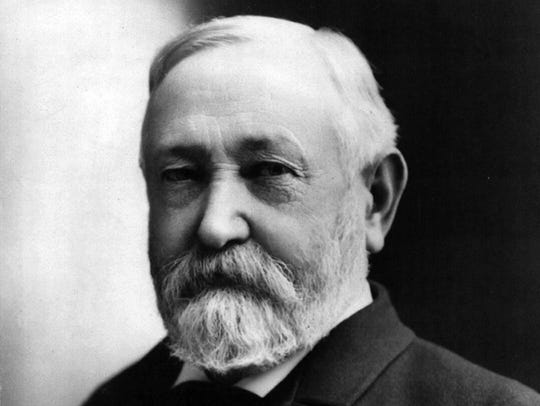 1892: BENJAMIN HARRISON. Two years after the Arizona