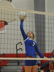 Hondo Valley High School was swept by Springer in the first round of state volleyball action in Rio Rancho.