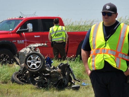 Accident claims one, injures several