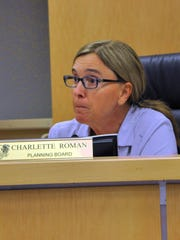 Marco Island city councilor Charlette Roman during her time on the Planning Board.