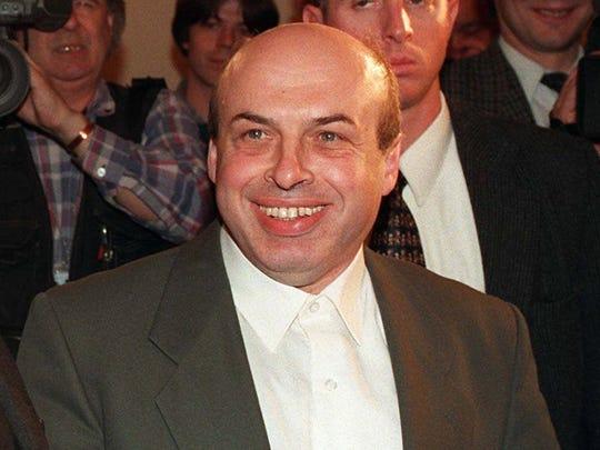 Former Soviet dissident Natan Sharansky.