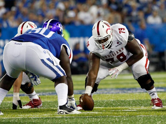 NCAA Football: UL Lafayette at Kentucky