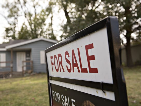 It's no secret that the economy is still in a slump, as evidenced by the number of houses for sale around the area.