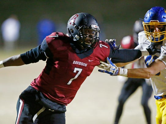 Davidson Academy defensive end Ani Izuchukwu has committed