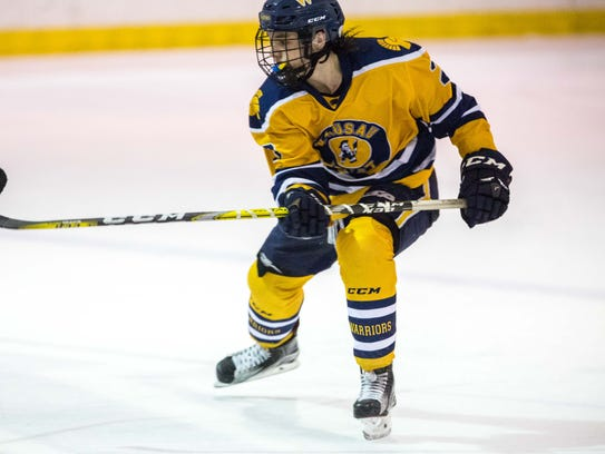 Max Techel helped Wausau West to a 9-1 conference record