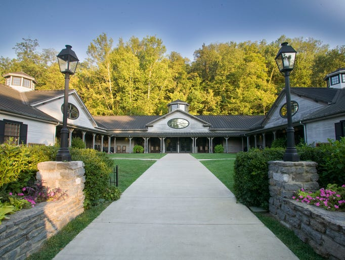 The Jack Daniel's visitor center is open from 9 a.m.