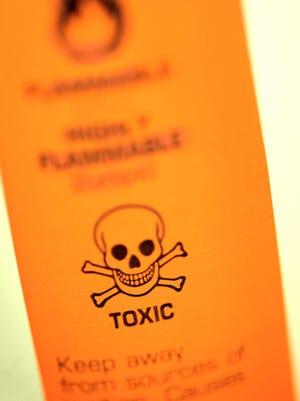 Toxic warning