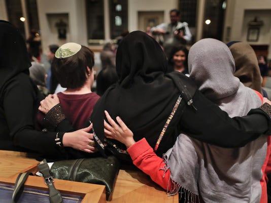 Muslims Jews Trump
