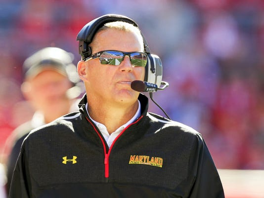 Maryland football coach Randy Edsall, a Susquehannock High School graduate, likes to post inspirational Twitter quotes. One of those quotes has landed him in hot water with some Terrapin fans.