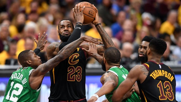 LeBron James notched his sixth 40-point game of...