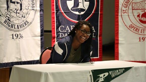 Carolina Day senior Mikayla Ray has signed to play