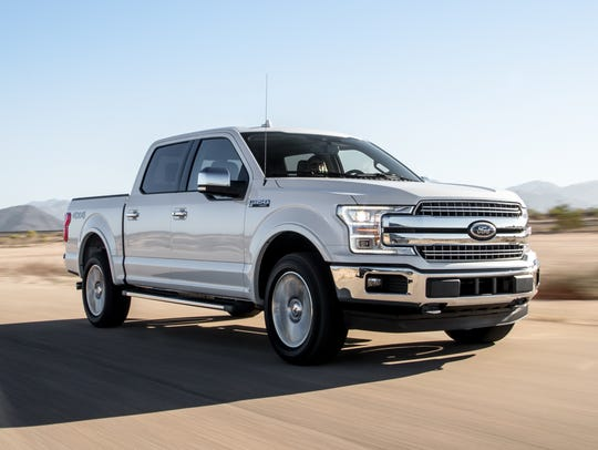 The Ford F-150 was named the 2018 Truck of the Year