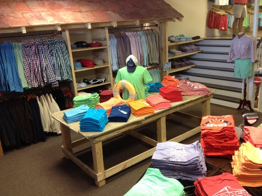 The COAST retail store will carry the brand's full line of polos, t-shirts, shorts and fleece.