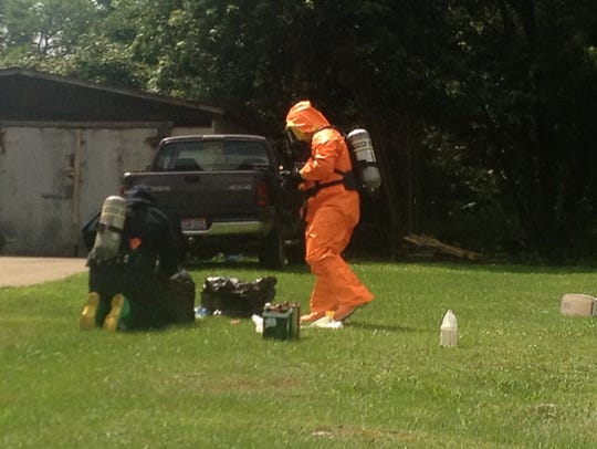 Two meth labs found in Mansfield