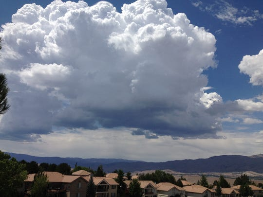 RGJ photo director Tim Dunn took this photo Sunday afternoon when storms began moving through the area