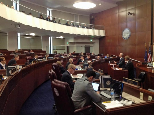 Thursday State senate photo