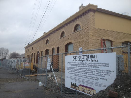 A beer hall and garden is set to open in May at the Metro-North station in Port Chester.
