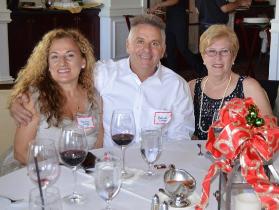 Tiziana and Patrick Lahey, left, and Karen and Al Ferruolo