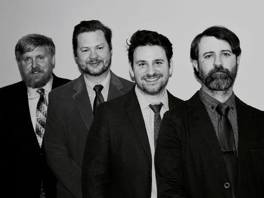 Blackbird Pickers: Pictured left to right: Jarrad Glover, Theo Pinson, Matt Strickland, and Michael Baker