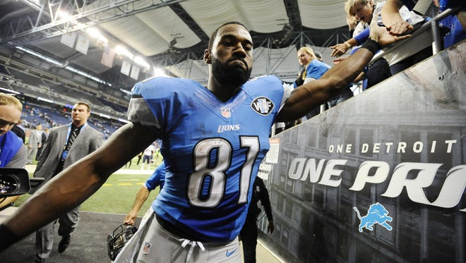 """Calvin Johnson was the """"anti-diva,"""" as his former teammate and close friend Nate Burleson once explained."""