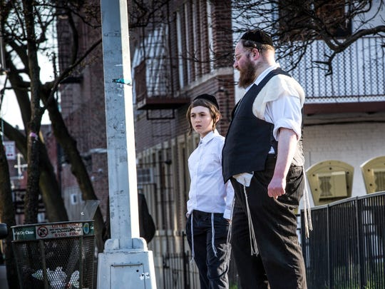 "Menashe Lustig and Ruben Niborski in a scene from ""Menashe."""