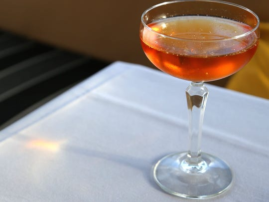 The Falling Back cocktail from Virtù is made with Redemption