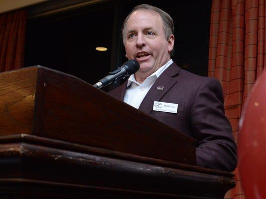 Matt Viator head coach of ULM fb speaks