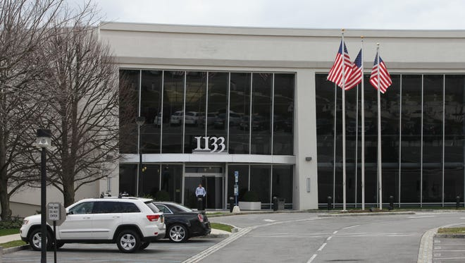 The 1133 Westchester Ave. building in White Plains is one of the office complexes owned by RPW Group. The property would get boost from the gigabit internet access when it becomes a reality.