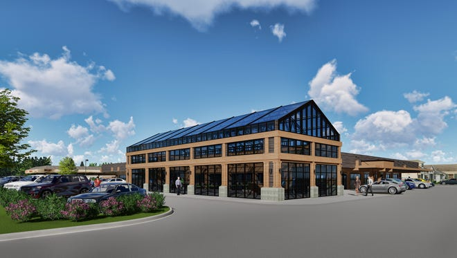The former Brennan's Market, in the Town of Brookfield, will be converted into MLG Capital's new headquarters.