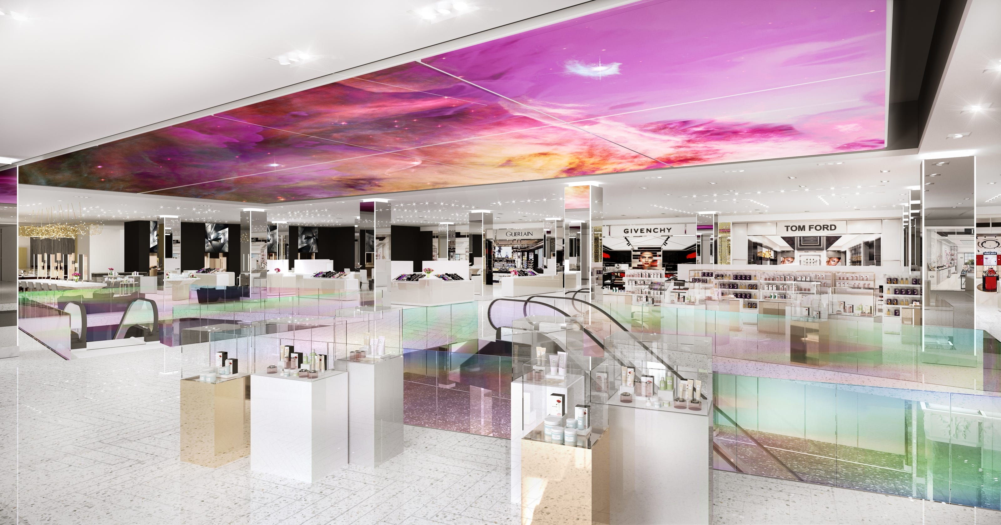 Saks Fifth Ave  gives Sephora run for the money with new beauty floor