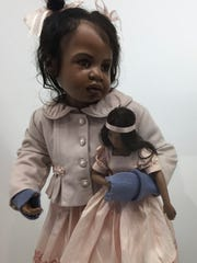 Dolls meant for display were often realistic.