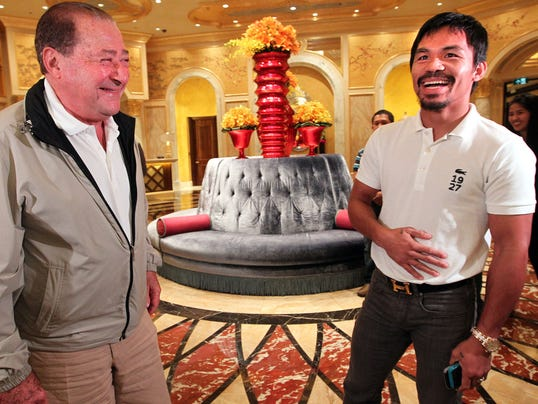 Arum and Pacquiao
