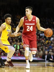 Wisconsin guard Bronson Koenig is having an All-American-caliber