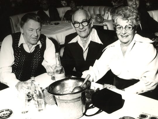 Frank Sinatra at Trinidad table.