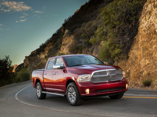Chrysler adds a diesel to its standard-duty 2014 Ram 1500 pickup. It's optional and can add as much as $4,500 to the price, depending on model. But it should get about 30% better mpg that a gasoline engine of similar power.