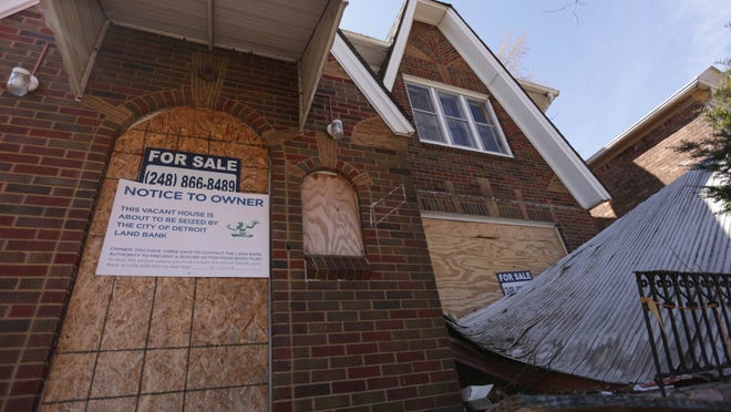 The Detroit Land Bank Authority is seizing many abandoned properties and razing or selling them.