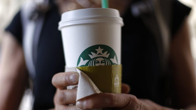 Starbucks opens Wednesday in Lewistown.