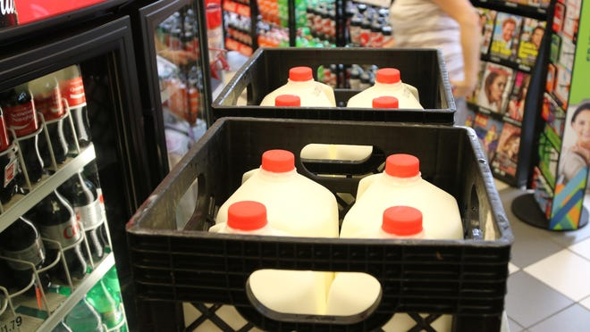 United Dairy Farmers Bellevue is donating 400 gallons of milk this winter to Emergency Shelter of Northern Kentucky to homeless people.