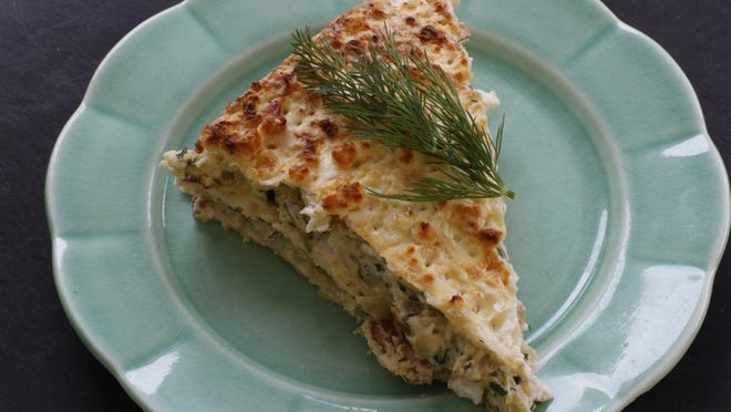 Matzo bread is a delicious substitute for traditional pasta noodles in this rethinking of a classic lasagna.
