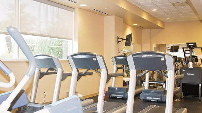 IU Health Ball Memorial Hospital provides its employees with an advanced fitness center, one of many points that helped to earn the the hospital a Gold- Level Fit-Friendly Worksite designation by the American Heart Association.