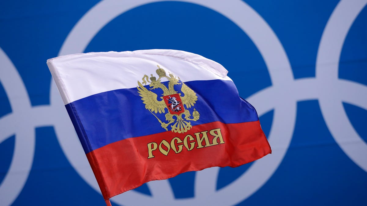 Russian athlete suspected of doping at Olympics