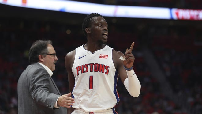 Pistons coach Stan Van Gundy said a healthy and conditioned Reggie Jackson will be a better shooter.