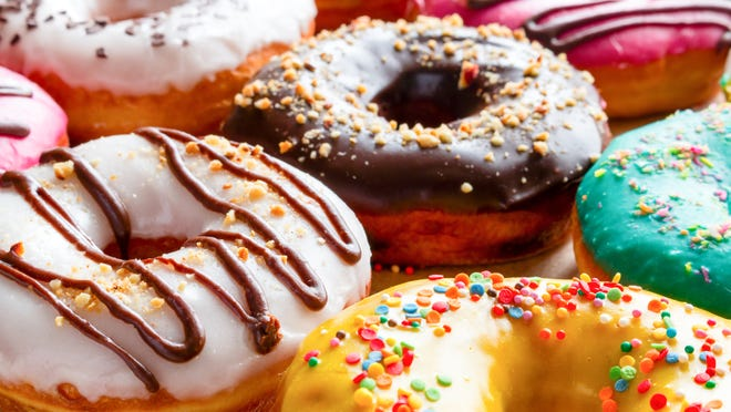 Pick up a free donut on Fountain Square Friday in celebration of Donut Day.