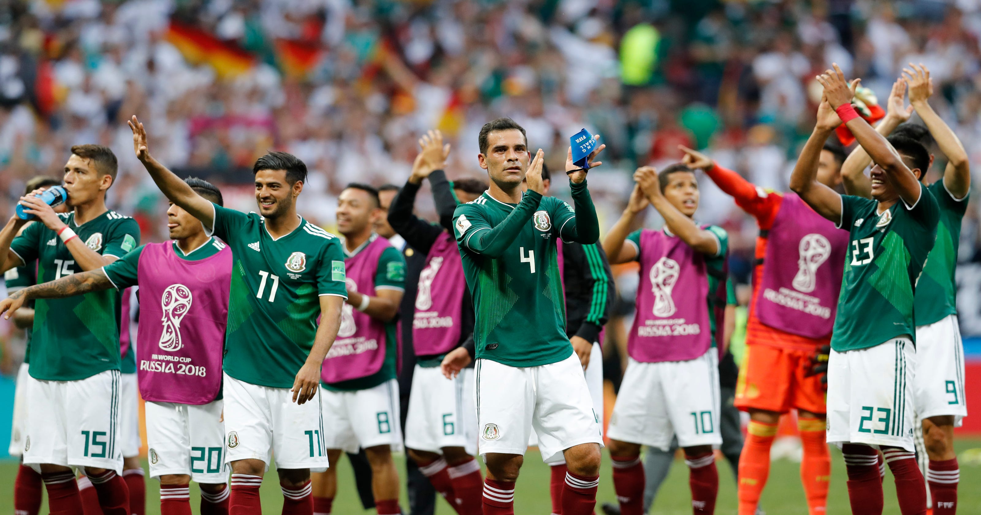 faf49d306 Mexico s Marquez in  great shape  at fifth career World Cup
