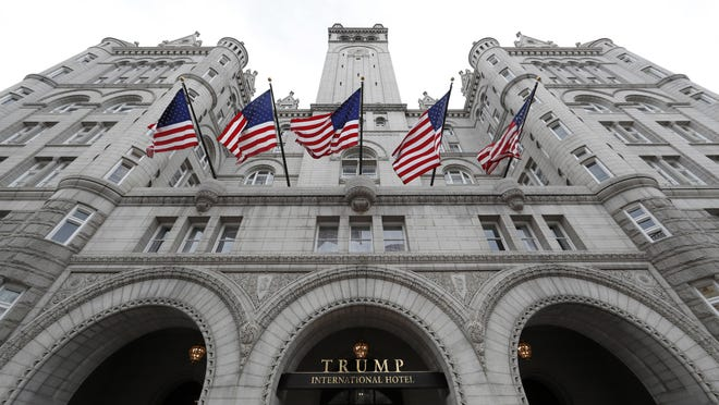The Trump International Hotel at 1100 Pennsylvania Avenue NW, in Washington.
