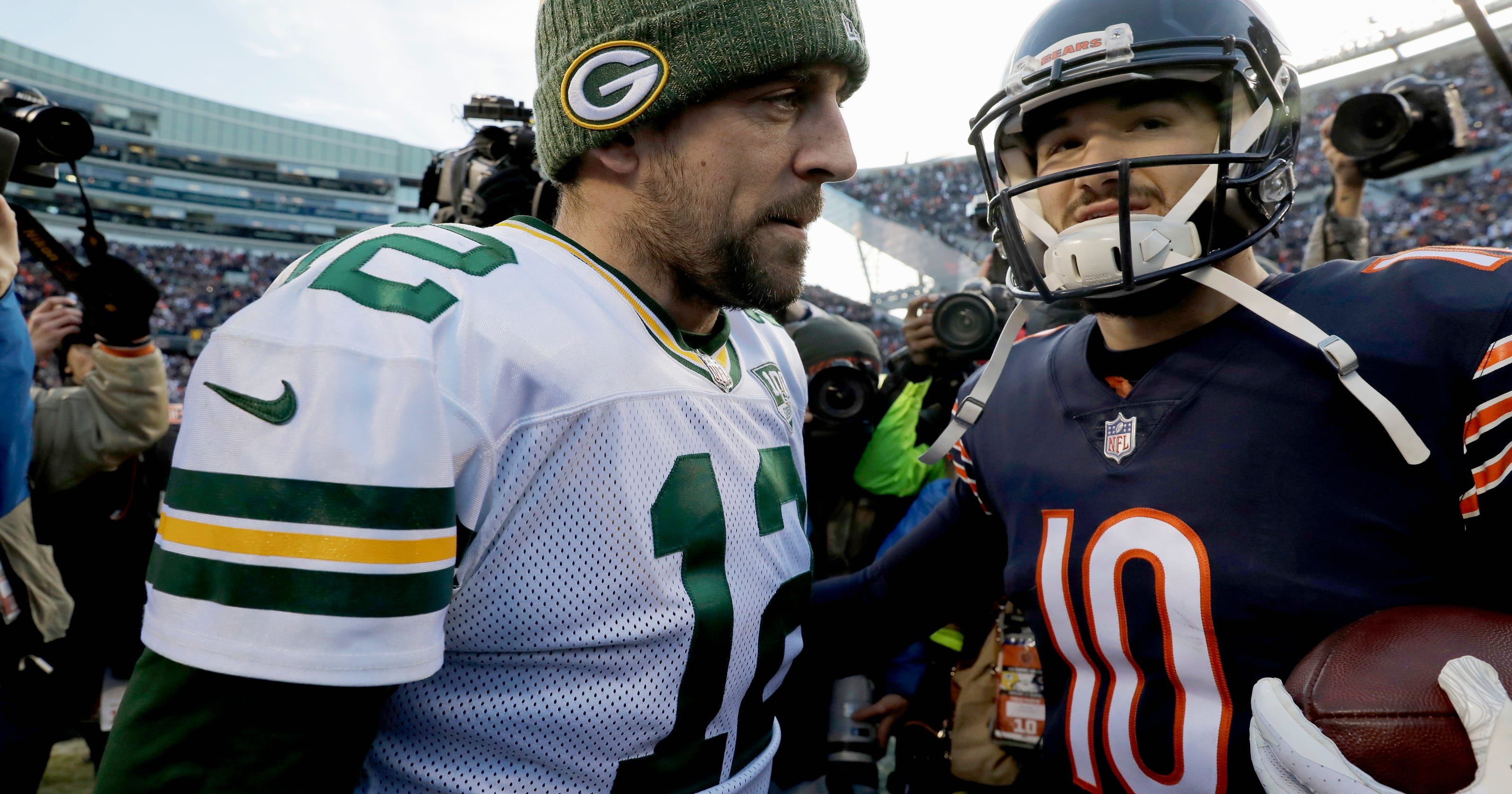 Bears clinch NFC North with 24-17 victory over Packers 26b65525d
