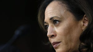 Sen. Kamala Harris, D-Calif., entered the Democratic presidential race on Monday.