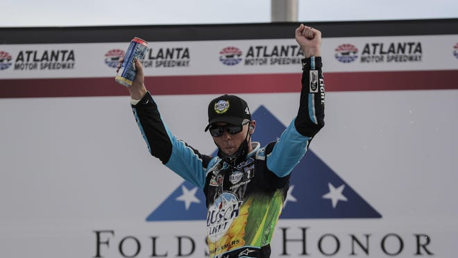 Kevin Harvick continues climing the ranks of all-time winners in Cup Series history.